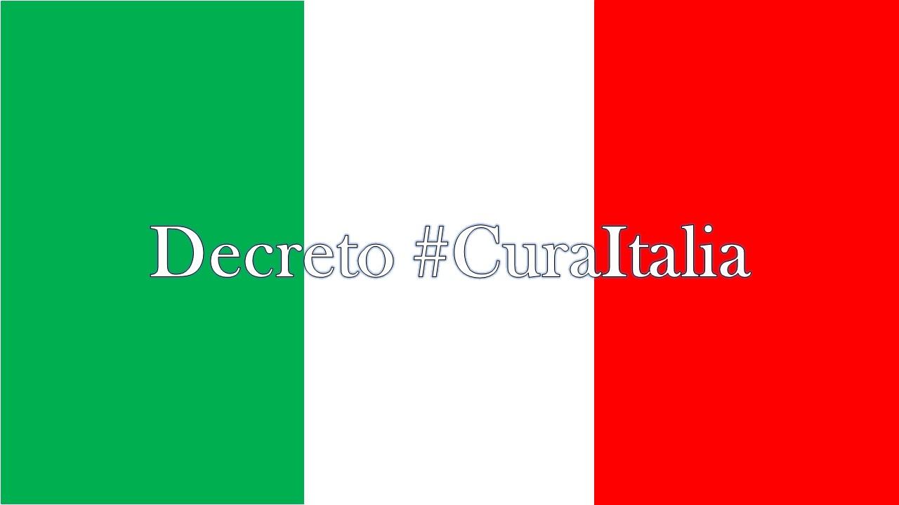 Decreto Cura Italia: sintesi delle principali misure d'interesse per il settore agricolo